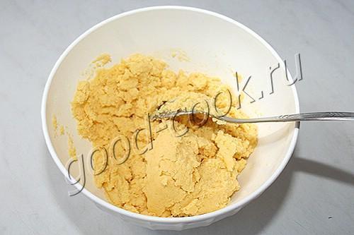 кукурузные лепешки с творогом