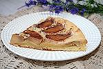 перевернутый пирог с яблоками и сгущенным молоком
