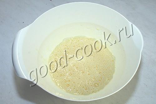 рулет с вишнёвым желе