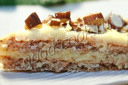 шведский миндальный торт (как в Икеа)
