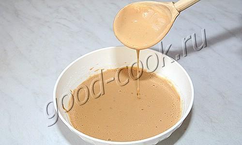 блины на варёном сгущенном молоке