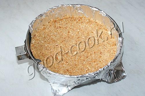 пирог из печенья с вишней