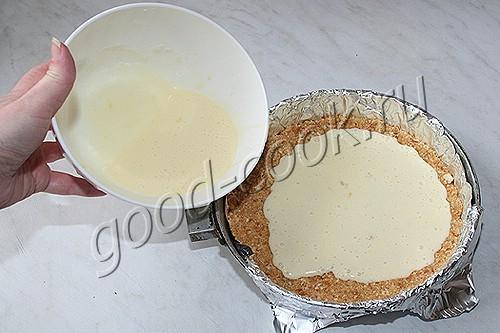 Пирог из печенья