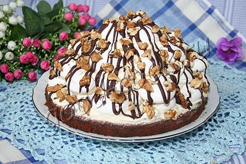 Классическая развалина торт пошагово фото