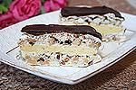 торт Воздушный с орехами и шоколадом