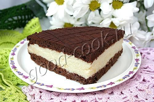Торт птичье молоко на сметане рецепт пошагово 15
