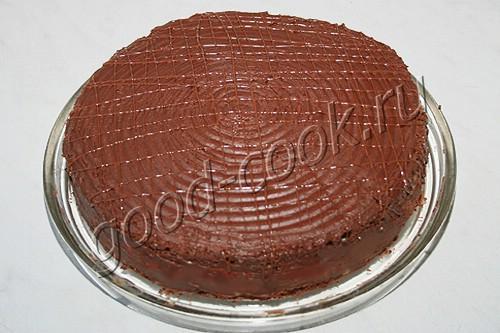 """торт """"Птичье молоко"""" с манкой"""