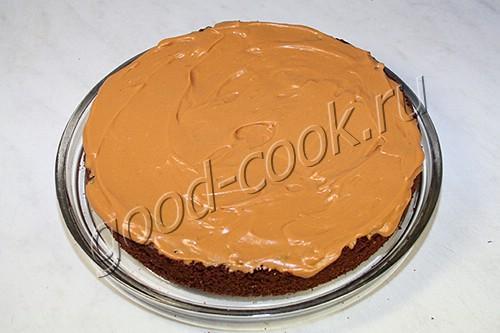 """торт """"Графские развалины"""" на шоколадной основе"""