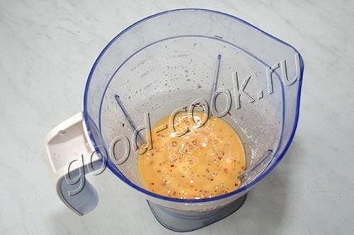 чизкейк с персиками