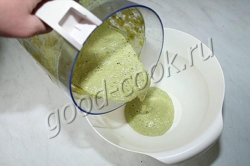 оладьи из кабачкового пюре