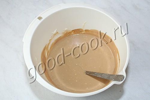 многослойный чизкейк с овсяными печеньями
