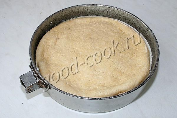 перевернутый пирог с курицей