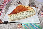 дрожжевой пирог с рисом и яйцами