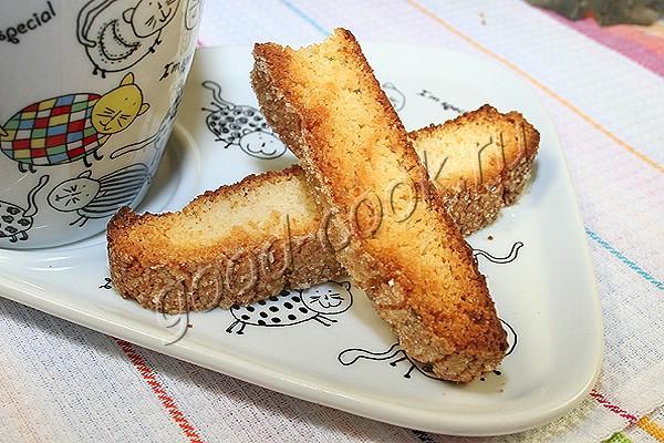 лимонные сухарики (бискотти)