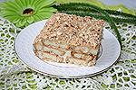 торт из слоеных печений Ушки
