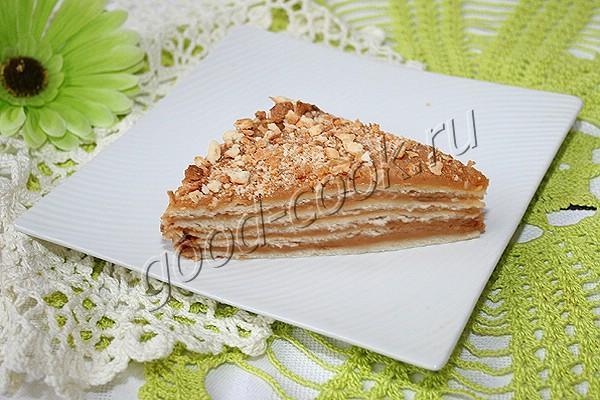 """торт """"Степанида"""" с карамельным кремом"""