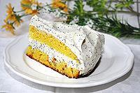 """лимонный торт с маковым кремом """"Александра"""""""
