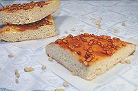 лепешка с мёдом и орехами
