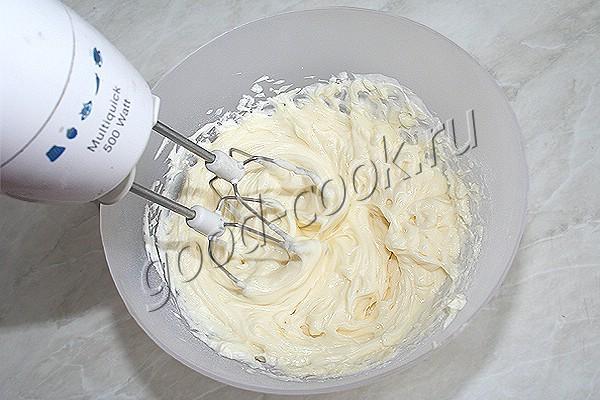 масляный крем со сливочным сыром
