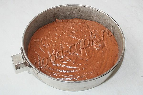 шоколадный торт с банановым кремом
