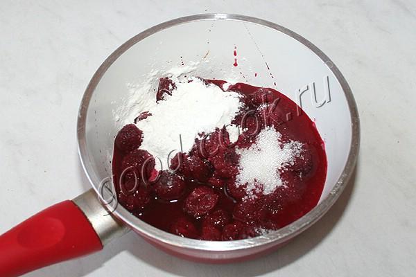 шоколадные капкейки с вишневой начинкой