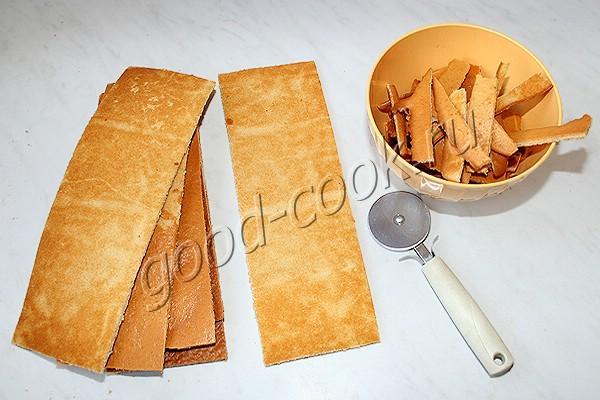 спиральный медовый торт