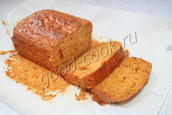 оранжевый кекс на кураге