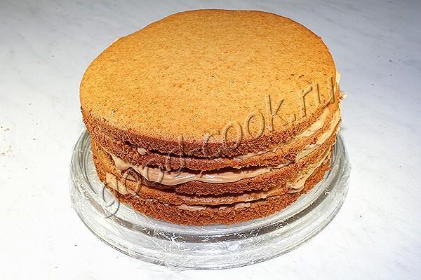 Торт медовик классический рецепт с пошагово нежный