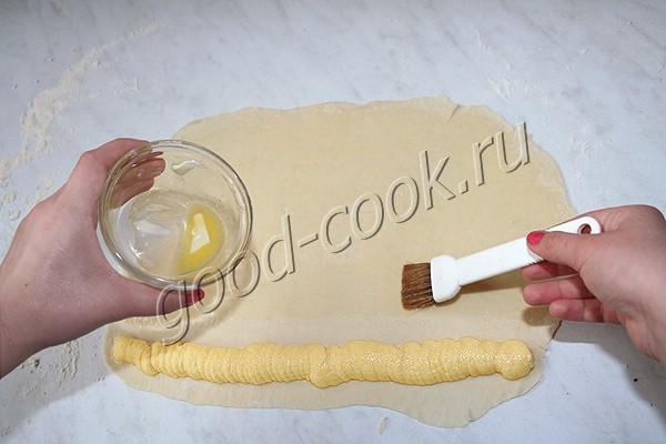 испанские булочки с заварным кремом