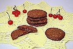 овсяное печенье с Нутеллой