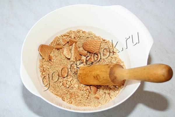 чизкейк с вишнёвым муссом
