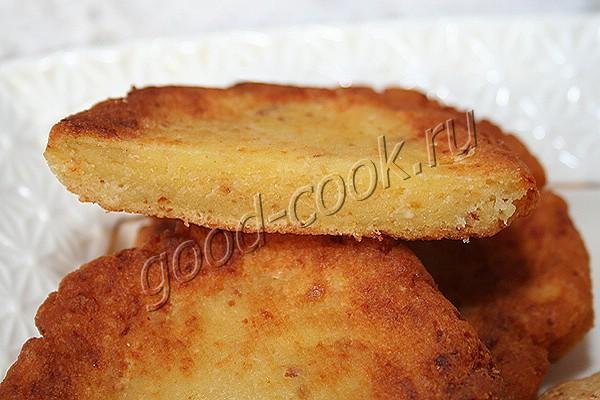кукурузные лепёшки с сыром по-грузински