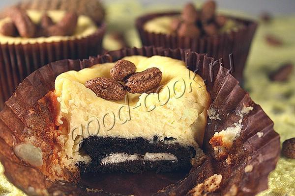 чизкейк с печеньем Орео