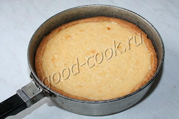 пирог со сгущёнкой и лимоном