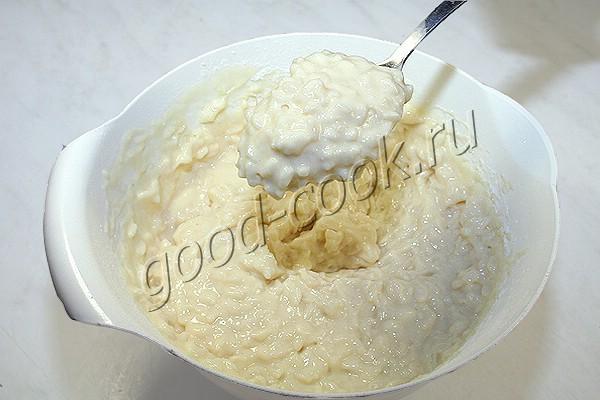 кексы с творогом и рисом