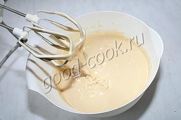 медовые капкейки с кремом из творога