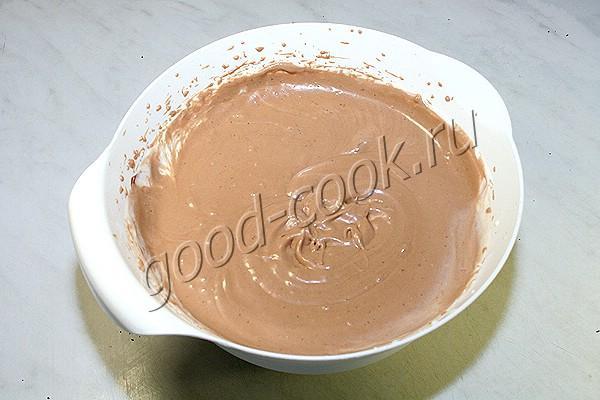шоколадно-апельсиновый торт-суфле