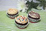 шоколадные кексы на кефире