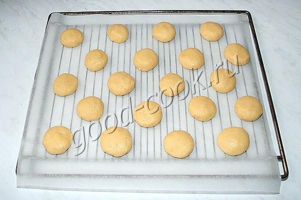 печенье с манкой