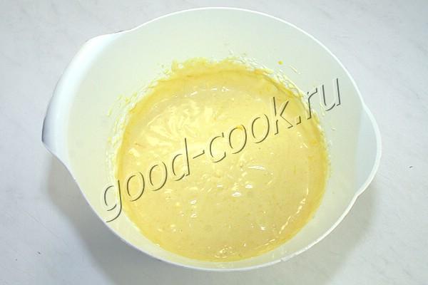 чизкейк с лимонным муссом