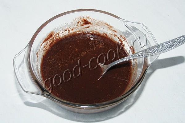 пряные шоколадно-творожные кексы