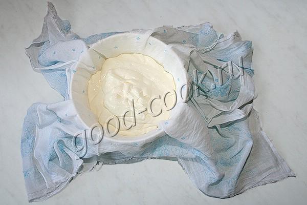чизкейк из отвешенной сметаны