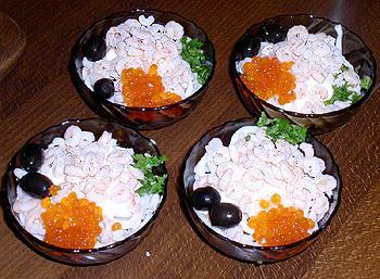 Комментарии: Салат из морского коктейля - кулинарный рецепт.