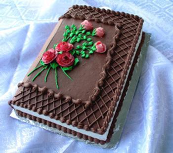 торт книжка фото рецепт