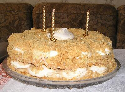 рецепт торт безе с фото