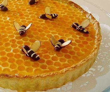 Как сделать пчел на медовый торт 8