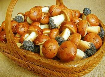 Печенье в виде листьев рецепт