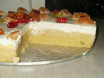 торт шведский яблочный