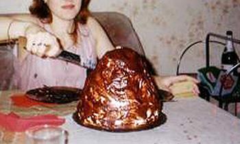 торт Хлопчик кучерявый