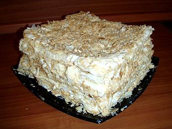 слоеный банановый торт рецепт